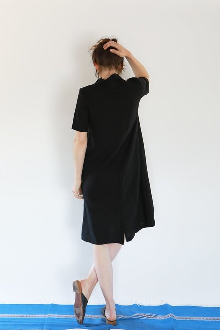 Me & Arrow SS LONG DRESS JACKET - BLACK