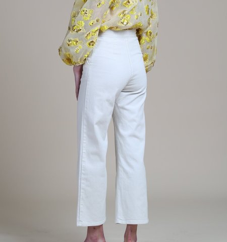 Rachel Comey Bishop Pant - Dirty White