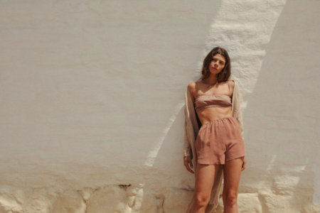 Ozma Mae Shorts - Sand