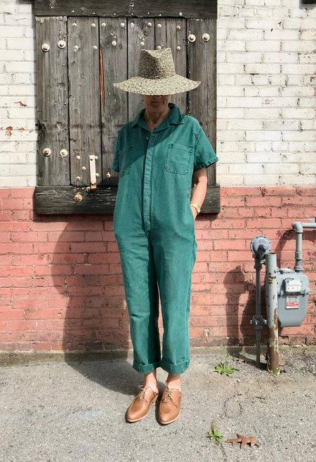 Caron Callahan Crawford Twill Jumpsuit - Green