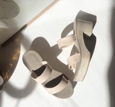 Atelier Sabot Romy clog mules - Cream