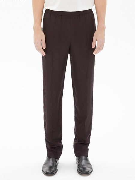 Helmut Lang CUPRO LOUNGE TROUSER - Chocolate
