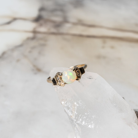 Natalie Orb Ring