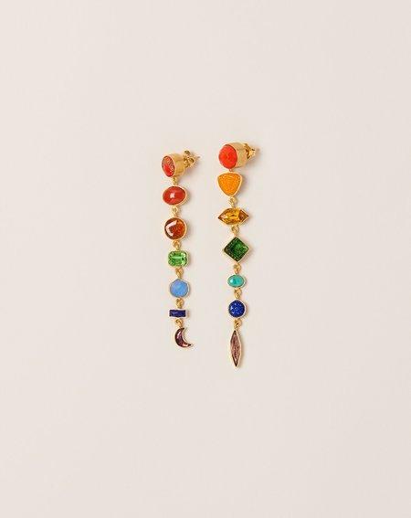 Grainne Morton Rainbow Drop Earrings