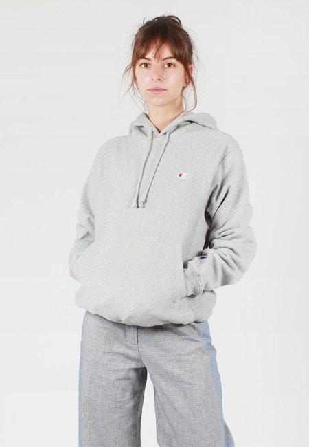 Champion Europe Womens Reverse Weave Hoodie - oxford grey
