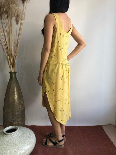 EVE GRAVEL CLEMENTINE DRESS - CITRON