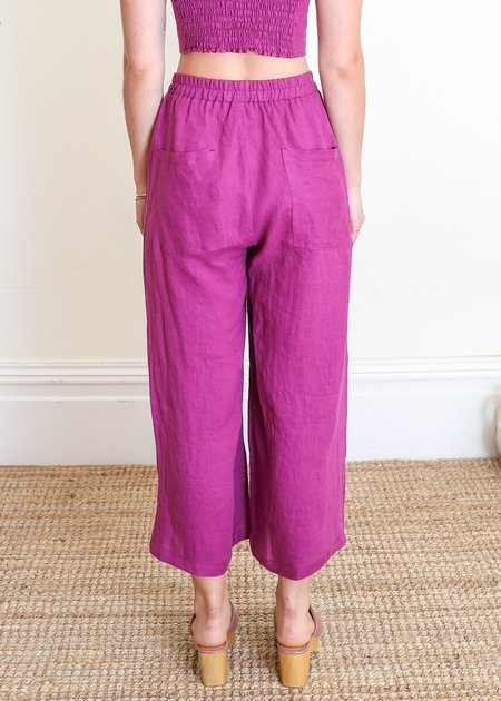 Gravel & Gold Set Pants - PURPLE
