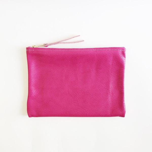 ARA Handbags - Magenta Clutch No. 1