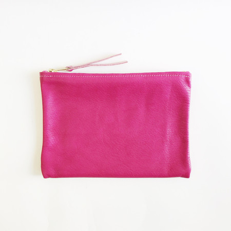 ARA Handbags - Magenta Clutch No. 1