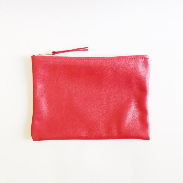 ARA Handbags - Red Clutch No. 1