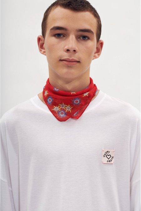 Julian Zigerli Alpine Foulard - Red