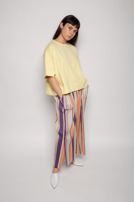 Issey Miyake Easy-T Shirt - Soft Yellow