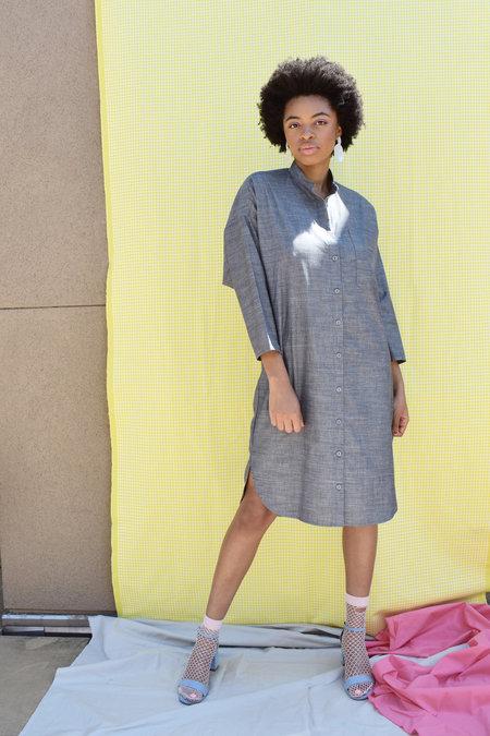 Study NY Shirtdress 1.6 - Dark grey