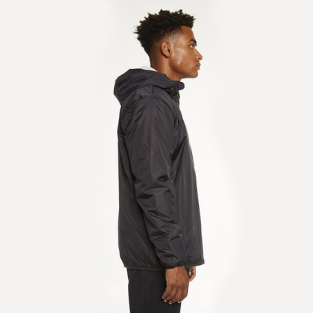 K-Way Le Vrai 3.0 Claude Orsetto Full Zip Padded Jacket - Black