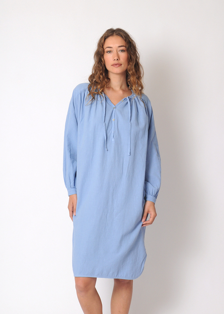 Gravel & Gold Sorrel Dress - BLUE