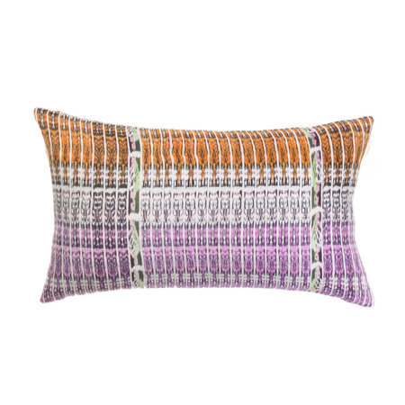 Archive New York Vintage Ikat Pillow - Pink/Orange Multi