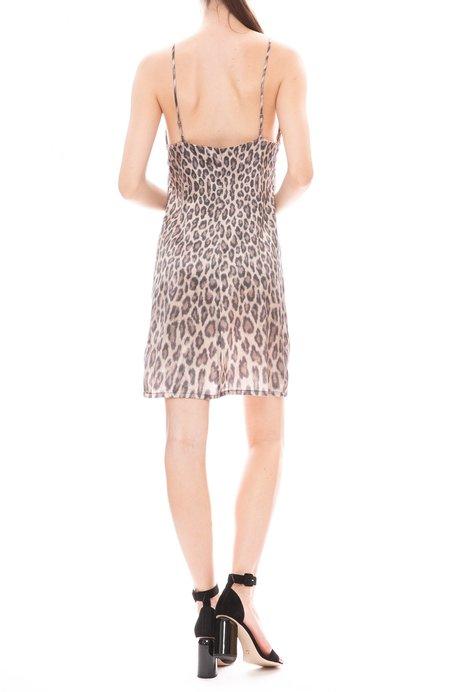 Loyd/Ford Mini Slip Dress - CHEETA PRINT