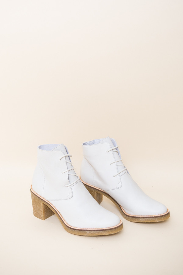 Miist Imelda Boots / White Leather