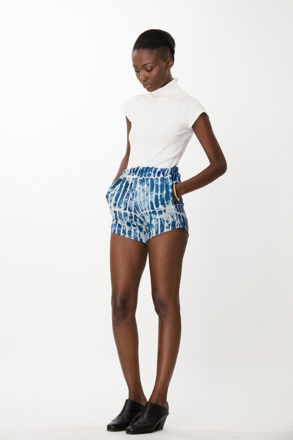 Osei-Duro Dash Shorts in Marine Chalk