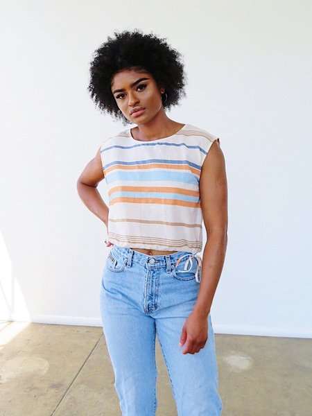 The Odells Crop Shell Top