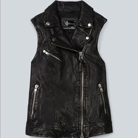 Vintage Mackage for Aritzia Frederica Vest - BLACK