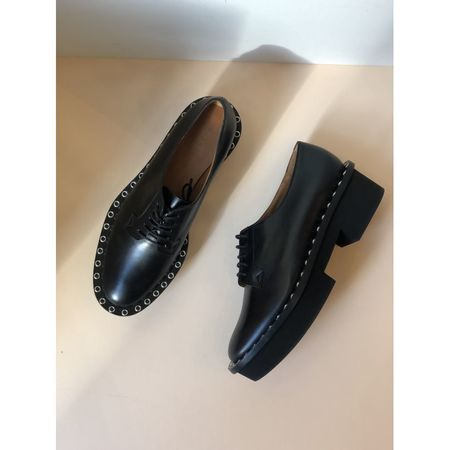 Robert Clergerie Beckie derby - Black