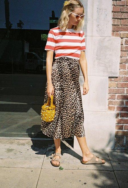 Ganni Blakely Skirt - Leopard