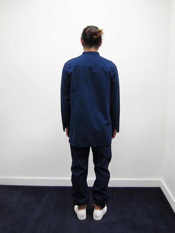 Zed Pullover Shirt, Blue