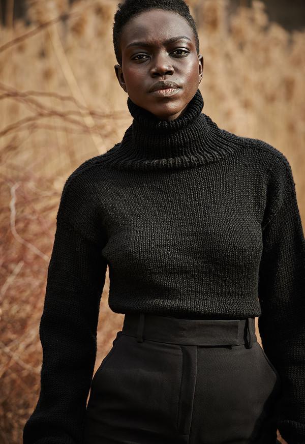 VOZ Apparel Turtle Neck Sweater