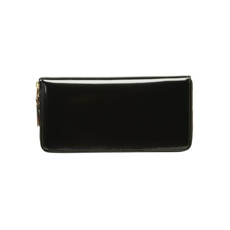 Comme des Garçons Large Mirror Inside Wallet - Black/Gold