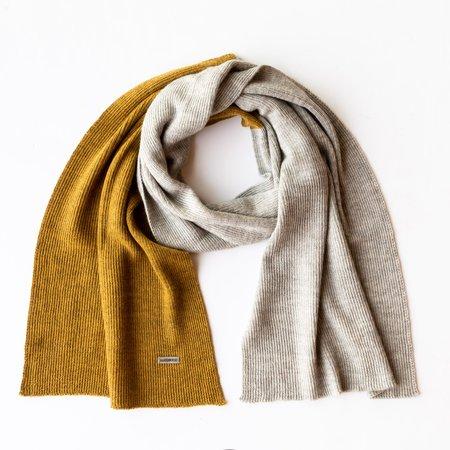 Unisex La Fibre et Moi Bali Alpaca Knit Long Scarf