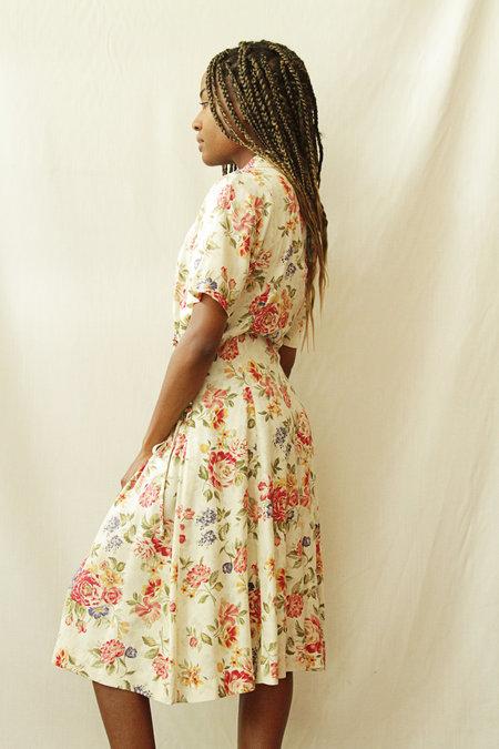 Jennifer James Vintage Shirt Dress - Floral