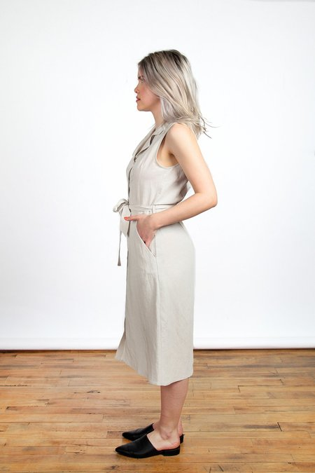 Eve Gravel Sienne Dress - Clay