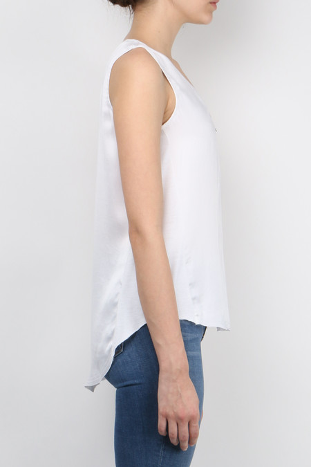 Go by Gosilk Go Zippy Tank Luxe - white