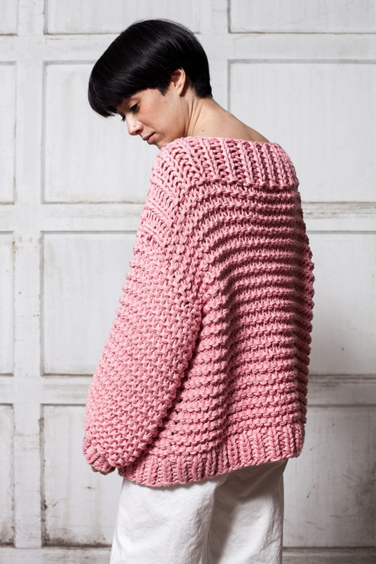 I Love Mr. Mittens Boatneck Jumper - bubblegum | Garmentory