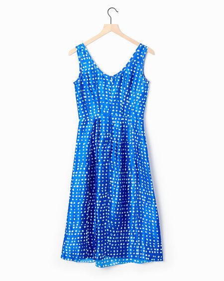 Marni Polka-Dot Dress - Blue/White