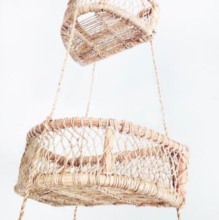 Murray & Finn Half Circle Hanging Basket