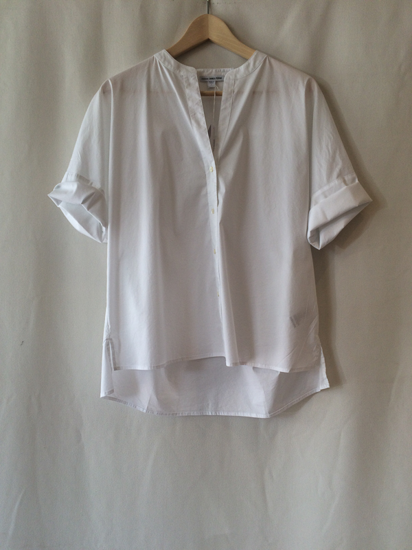 James Perse Roll Sleeve Shirt