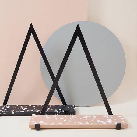 Daniela Rubino Terrazzo shelves