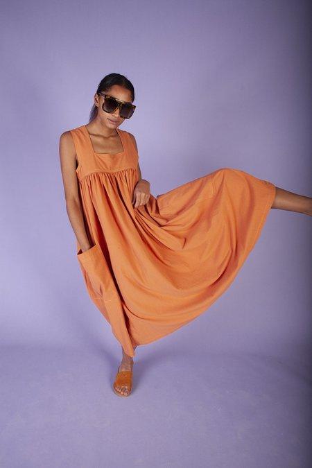 L.F.Markey Cameron Dress - Burnt Orange