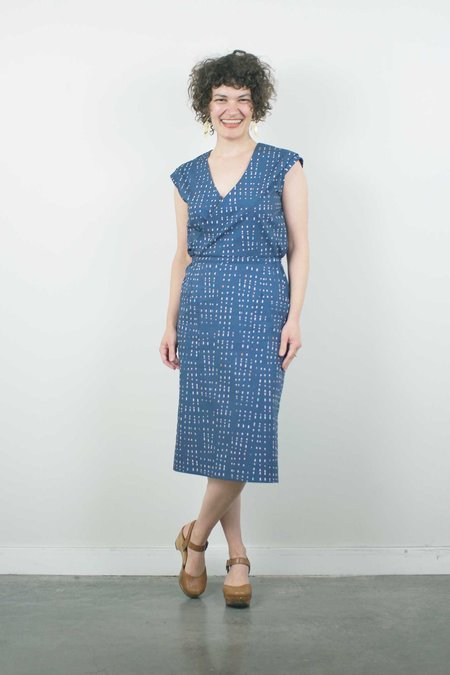 Jennifer Glasgow Hillier Dress - Violet Print