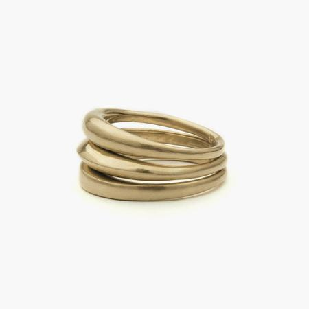 Fay Andrada Jomma Ring Set - Brass