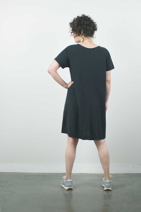 Jungmaven Beach Dress - Washed Black