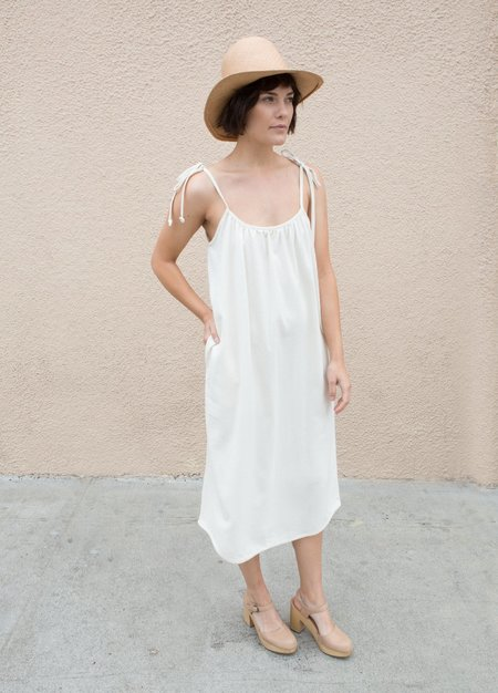 Lindsay Robinson Piscine Dress - Natural