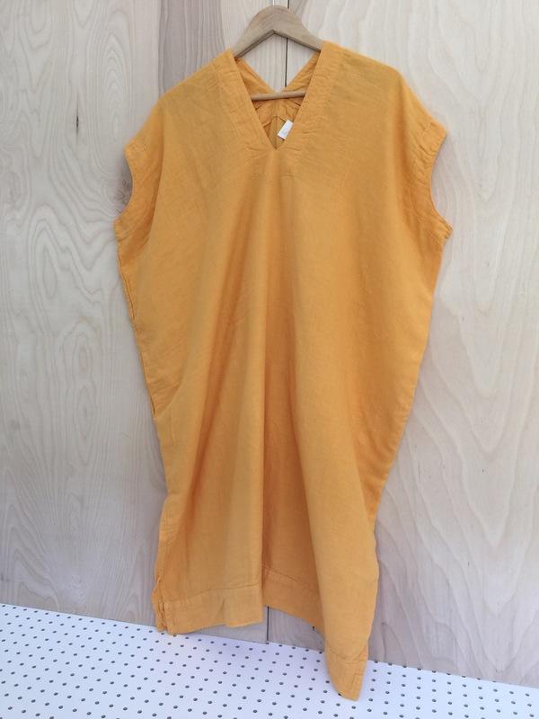 Atelier Delphine Crescent Dress Golden Poppy