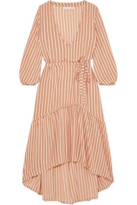 Faithfull Matilda Peasant Dress - Pink