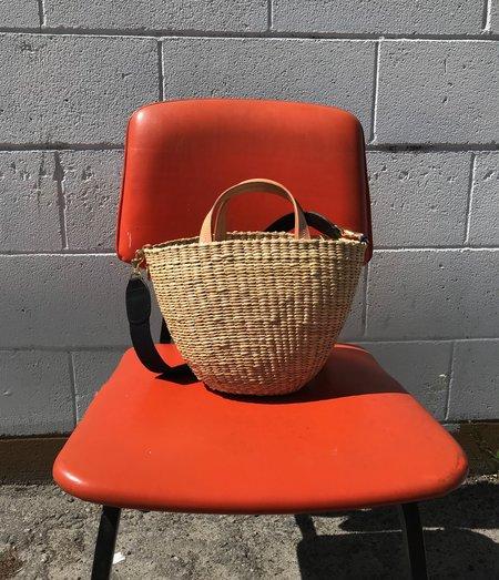Clare V. Appoline Basket - Natural
