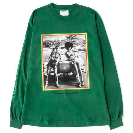 Metropolitan Uptown Long Sleeve T-shirt - Forest Green