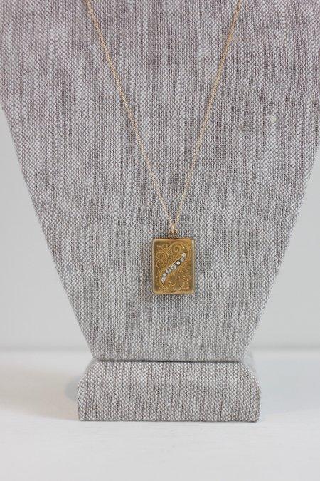 Vintage SASHA SAMUEL Emil Necklace - Gold
