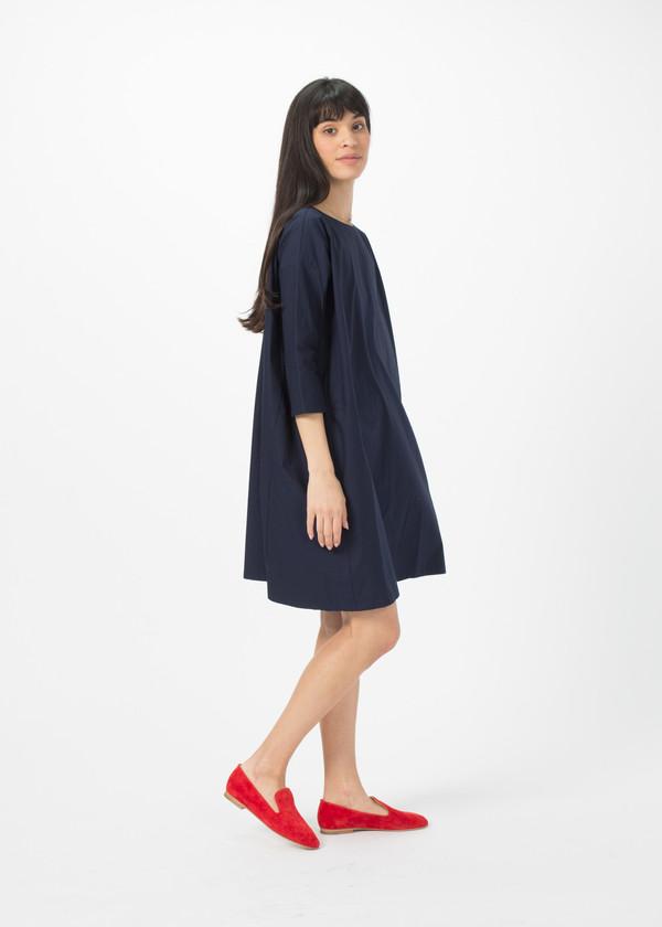 Organic by John Patrick Broadcloth Slim Sleeve Dress